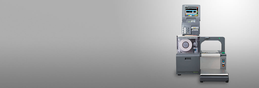 RGW-400 | 胴巻き包装プリンター | 流通小売 | 寺岡精工